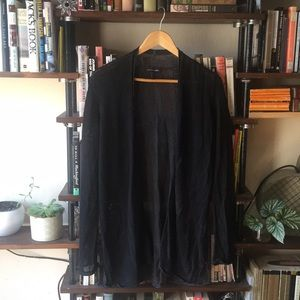 Black Eileen Fisher cardigan sweater